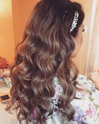 #bridal #hairstyling on this #gorgeous #