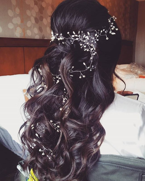 #bridal #hairstyling on this gorgeous #b
