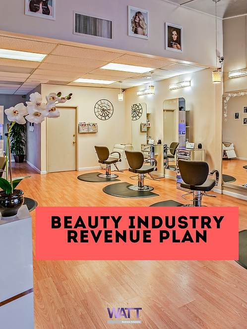 Revenue Plan For The Beauty Industry