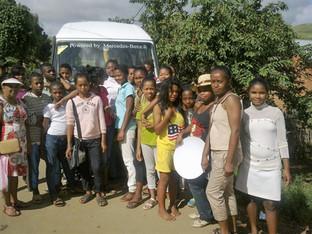 Sortie pédagogique  du collège d'Andranovelona d'Ilafy