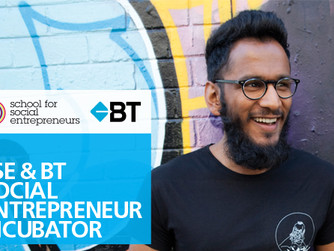 School of Social Entrepreneurs and BT Meet Up