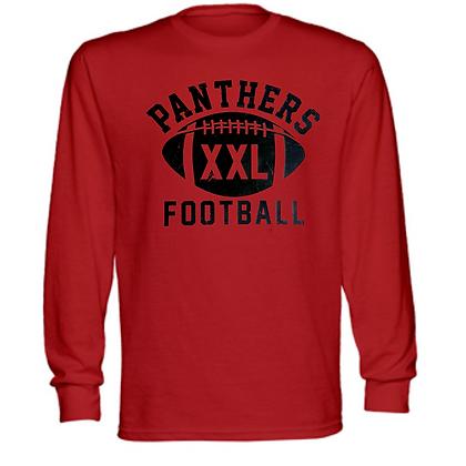 Norton Panthers Football Logo #49 Unisex Long Sleeve T-Shirt