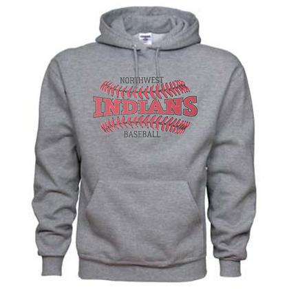 Northwest Indians Baseball Logo #28 Unisex Hoodie