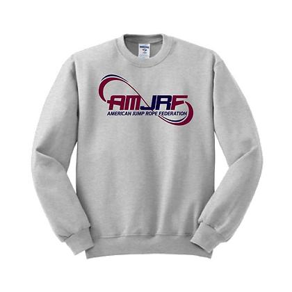 AMJRF Navy and Maroon Jerzees Unisex Crew Sweatshirt