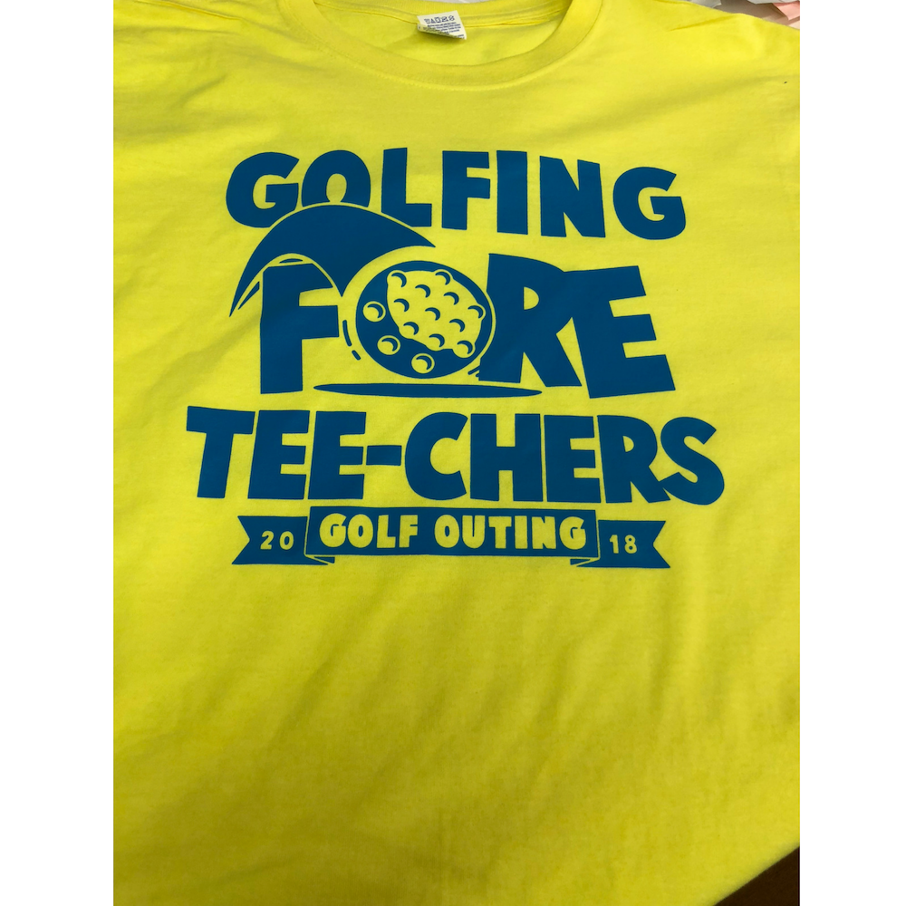 Teachers Golf Outing T-Shirt