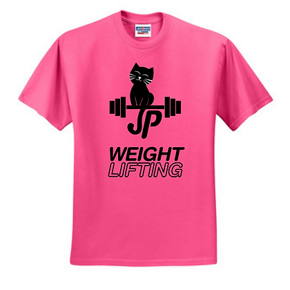 JP Weightlifting Black Print Unisex Cotton blend T-shirt