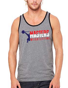 Masters Weightlifting Men's Tank