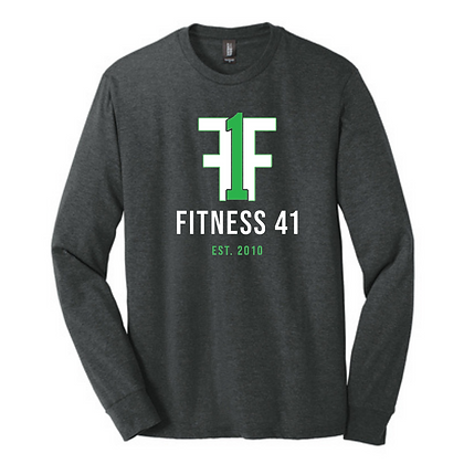 Fitness Forty One Unisex Long Sleeve Triblend