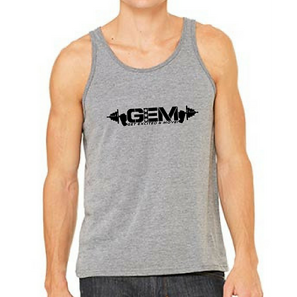 G.E.M. Men's Tank - Black Logo