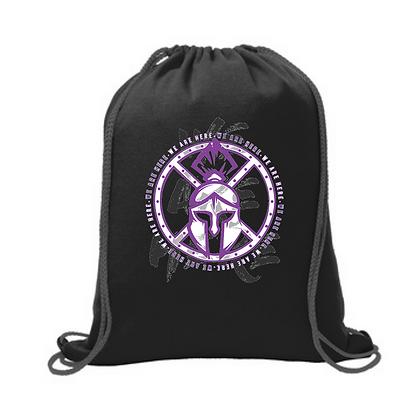 Barberton Wrestling Fleece Sweatshirt Cinch Bag