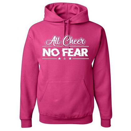 All Cheer No Fear Unisex Hoodie
