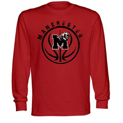 Manchester Panthers Basketball Logo #43 Unisex Long Sleeve T-Shirt