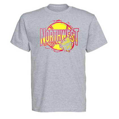 Northwest Indians Softball Logo #61 Unisex T-Shirt