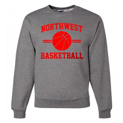 Northwest Indians Basketball Logo #35 Unisex Crew Neck Sweater