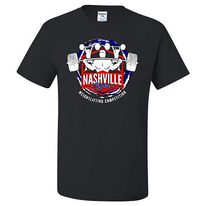 Nashville Open Weightlifting Competition 2019 Unisex T-Shirt