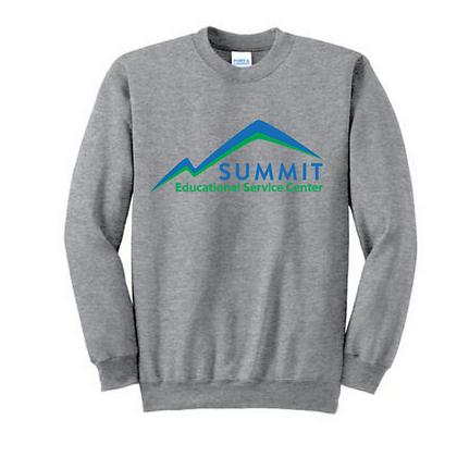 Summit ESC Full Front Adult Crewneck Sweatshirt