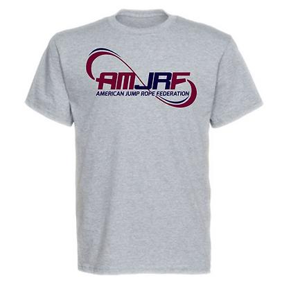 AMJRF Navy and Maroon Logo Unisex T-Shirt