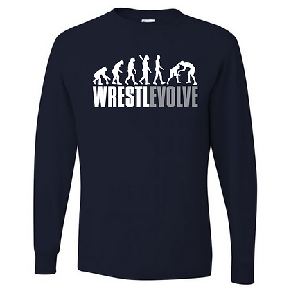 Wrestling Logo #37 Unisex Long Sleeve T-Shirt