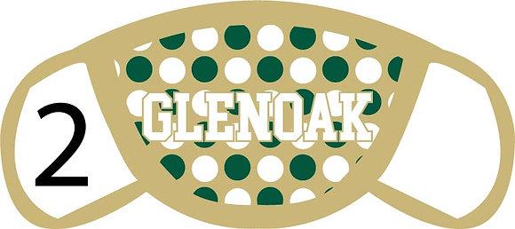 Glenoak Polka Dots Face Mask
