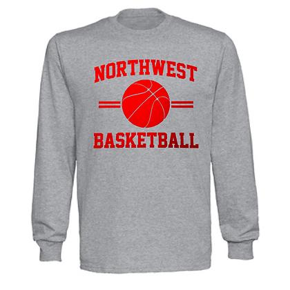 Northwest Indians Basketball Logo #35 Unisex Long Sleeve