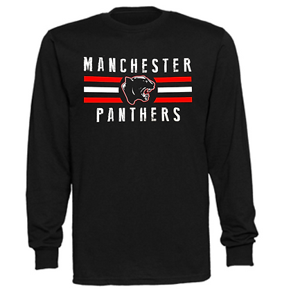 Manchester Panthers General Logo #12 Unisex Long Sleeve T-Shirt