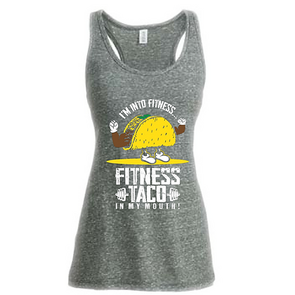 Fitness Taco In My Mouth Women's Tank Top