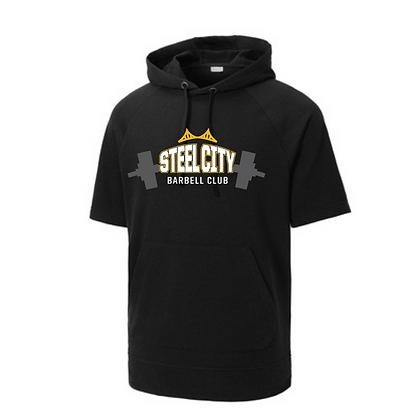 Steel City Design #4 Short Sleeves Unisex Hoodie