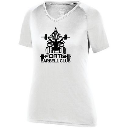Fortis Weightlifting Barbell Club (Black Logo) Womens Compress