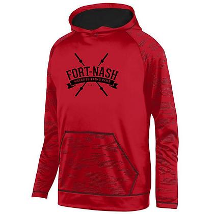 Fort Nash Weightlifting Club Logo B Sleet Hoodie