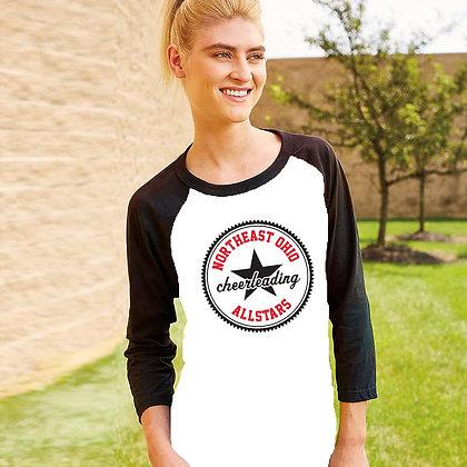 NEO Cheerleading Unisex Baseball T-shirt