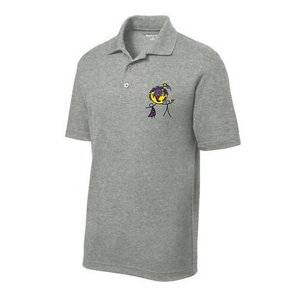 Kids First Embroidered Men's Polo