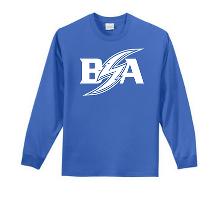 Blue Storm Athletics (White) Unisex Long Sleeve Tee
