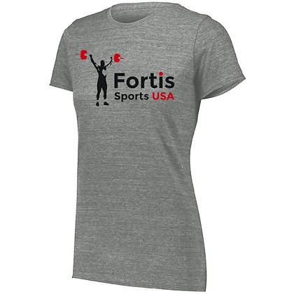 Fortis Weightlifting USA Sports Ladies Tri-blend