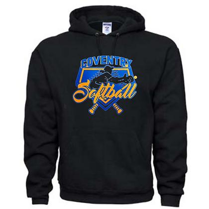 Coventry Comets Softball Logo #57 Unisex Hoodie