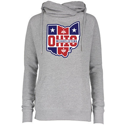 Ohio Weightlifting Classic Funnel Neck Hoodie