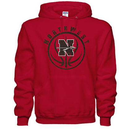Northwest Indians Basketball Logo #32 Unisex Hoodie