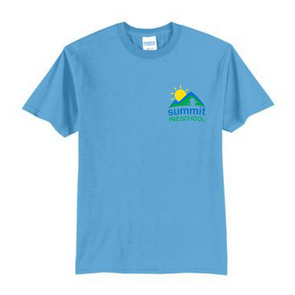 Summit Preschool Left Chest Adult Shirt