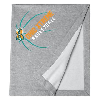 Ohio Xtreme Basketball Logo B Blanket