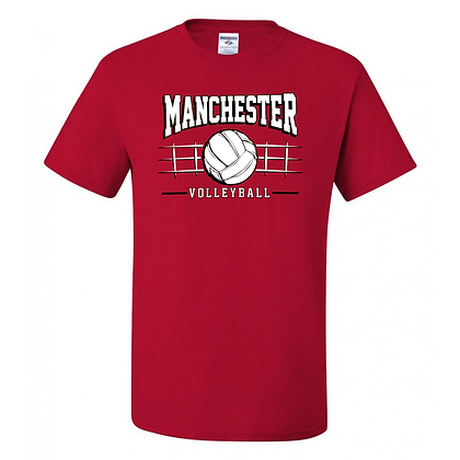 Manchester Panthers Volleyball Logo #83 Unisex T-Shirt