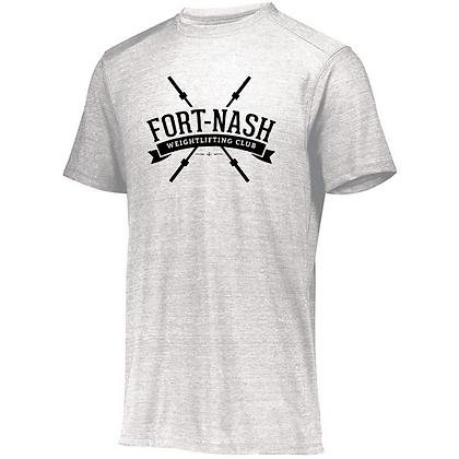 Fort Nash Weightlifting Club Logo B Unisex Tri-blend