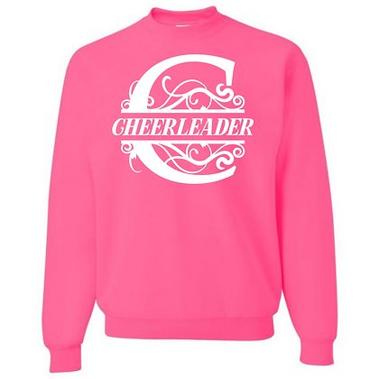 CHEERLEADER Unisex Crew Neck Sweater