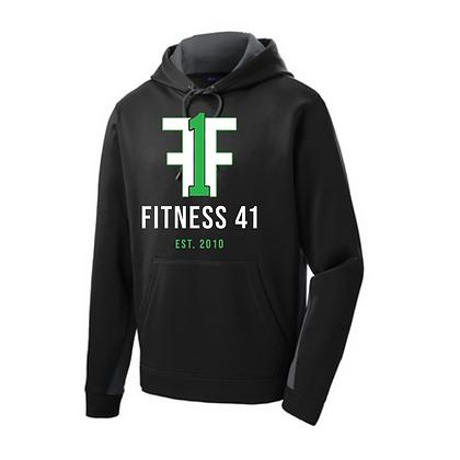 Fitness Forty One Sport-tek Fleece Hooded Pullover