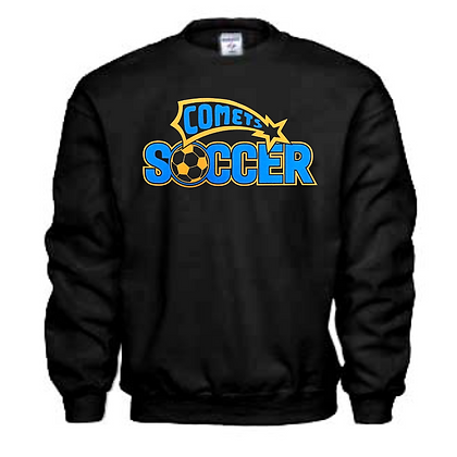 Coventry Comets Soccer Logo #54 Unisex Crew Neck Sweater