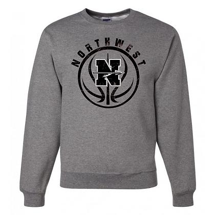 Northwest Indians Basketball Logo #32 Unisex Crew Neck Sweater