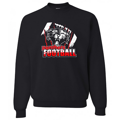 Manchester Panthers Football Logo #61 Unisex Crew Neck Sweater
