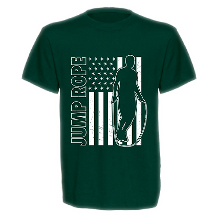 Gameday Jump Rope (American Flag)  Unisex T-shirt