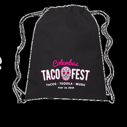 Columbus Taco Fest Drawstring Bag