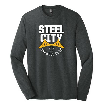 Steel City Design #3 Unisex Long Sleeve Triblend