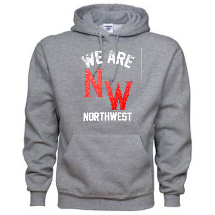 Northwest Indians General Logo #7 Unisex Hoodie