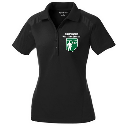 Ladies OAC Embroidered Championship Wrestling Official Polo